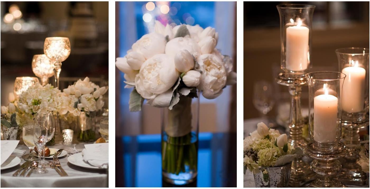 Ewd new year s eve wedding elizabeth wray design - New years eve centerpieces ...