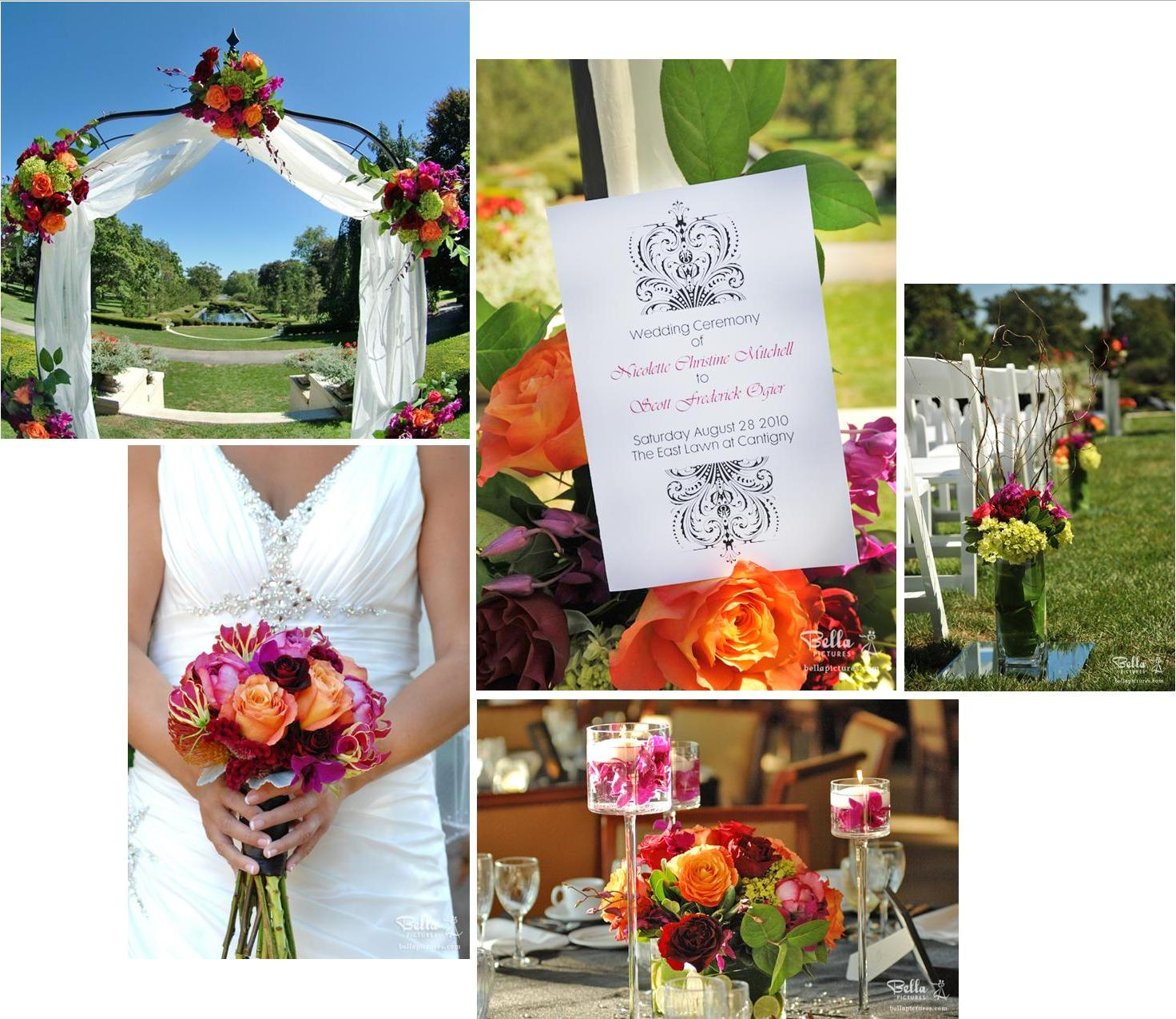 Summer Wedding Colors: Elizabeth Wray Design